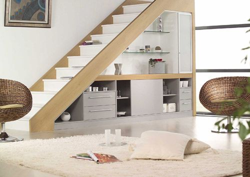 espace sous l 39 escalier. Black Bedroom Furniture Sets. Home Design Ideas