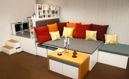 Le rangement - Meuble pour studio petite surface ...