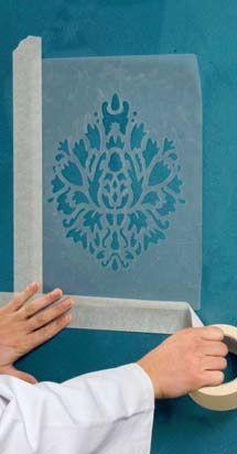 La d coration int rieur for Pochoir a peindre sur mur
